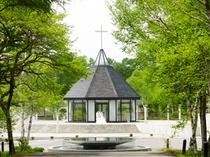 ガラスの教会「女神湖クリスタルチャーチ」