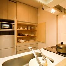 ■ファミリールーム キッチン