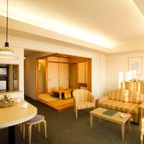 ■4.5畳の和室付きのアネックス棟ファミリールーム63㎡