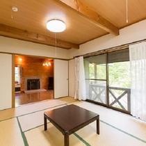 ■コテージ客室例■ 和室