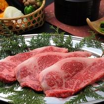 ■お部屋でお食事♪ケータリング例■ 信州産牛ステーキセット♪アツアツを召し上がれ