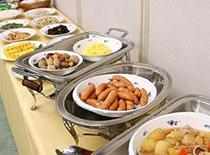 朝食バイキング日替わりメニュー