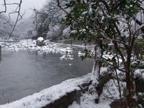 冬の武田尾