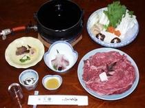 三田牛のすき焼き