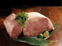 三田牛ステーキロース肉