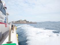 軍艦島クルージング