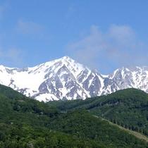 *白馬三山の美しい景色①