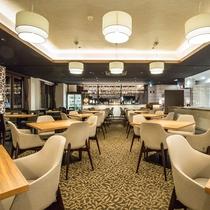 *レストラン/鉄板焼きライブキッチン モダンな空間で美味しい時間を