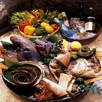 瀬戸内の旬食材の数々