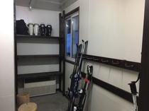 スキー乾燥室