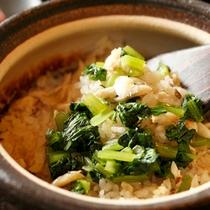 【料理】季節の懐石 炊き込みご飯