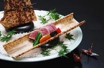 近江牛ステーキ盛り