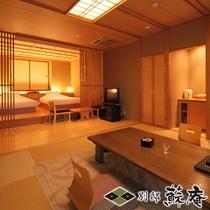 【数寄屋風】〜朝霧(ASAKIRI)〜客室