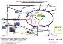 南阿蘇へのルートマップ(12/24現在)