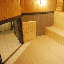 【江戸蒸風呂】温度/45℃〜50℃ 利用人数/5〜6名