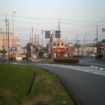 菊川インター前 御前崎方面はここを右折