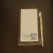 メモ用紙 ペン