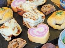 【ご朝食】毎朝焼き上げるパンは日替わりで種類も豊富です☆