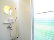 【和室・4人部屋】水圧強めで心地良さ抜群のシャワー