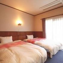 和洋特別室 ベッドルーム