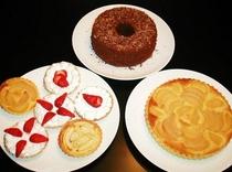 手作りケーキの数々♪
