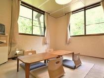 星の間・和室8畳最大3名様まで宿泊可能です。