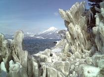 冬の風物詩しぶき氷