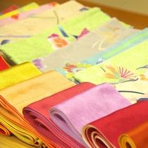【色浴衣】お好きなお色をお選びください♪(露天風呂付き客室のお客様は無料)
