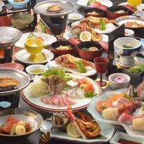 【夕食一例】「海」