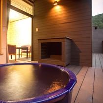 2016年8月完成!客室露天風呂