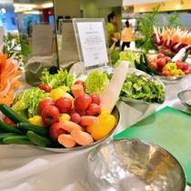 *お食事一例/お野菜もたっぷり摂って、バランスのいいお食事を♪