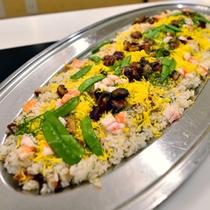 *お食事一例/ちらし寿司が出てくることも♪海外のお客様にも大人気!