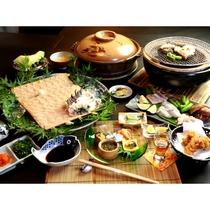 【フグコース】豊後水道でもまれたフグや地魚は身が締まり、美味さも別格です。