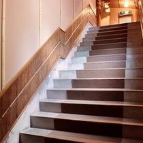 *「山科」への階段