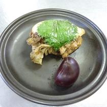 *【あけびの印籠焼き】アケビの皮が美味しく食べられる料理です♪