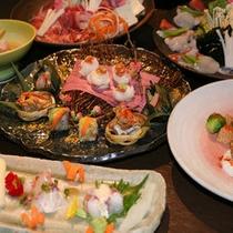 【ご夕食】春のメニューイメージ