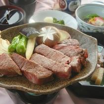 【ヒレステーキ会席一例】肉食派さんは見逃せない!