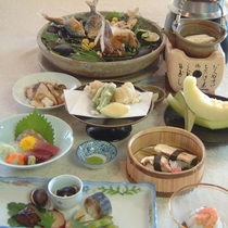【ハイグレード会席一例】季節の特選素材を使用したお料理をご堪能ください