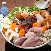 新鮮魚介鍋