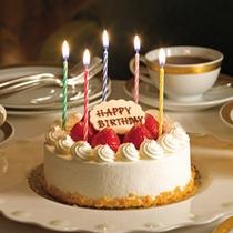 ■生デコレーションケーキ(ロウソク付ver)