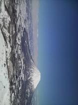 スキー場からの羊蹄山
