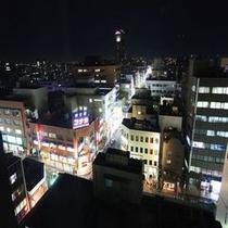 客室からの景色(夜)