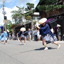 【湯沢市】愛宕神社祭典 大名行列