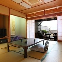 【露天風呂付客室】庭園+10畳+踏み込み3畳