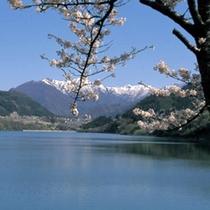 赤谷湖(春)