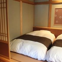 【さざんか】寝室