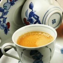 ☆コーヒーと有田焼のカップ