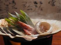 能登の郷土料理 いしりの貝焼き