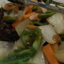 志高 夕食『酢豚』