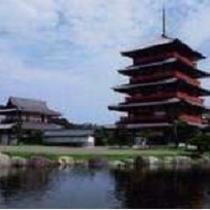 蓮華院誕生寺(当ホテルよりお車で約25分)